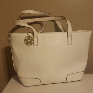 White Shoulder Purse